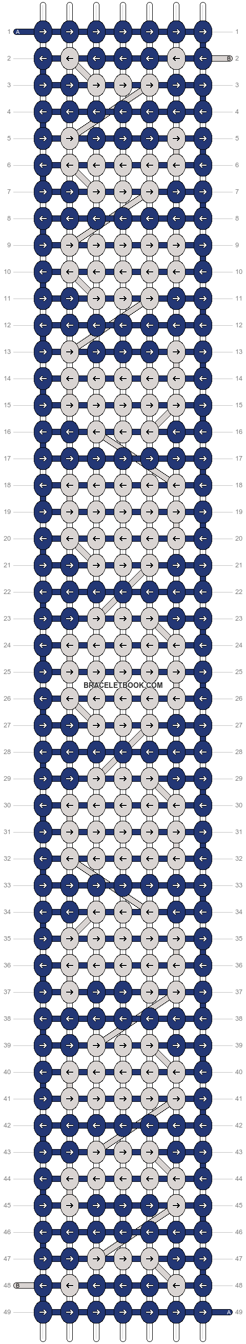 Alpha pattern #55570 pattern