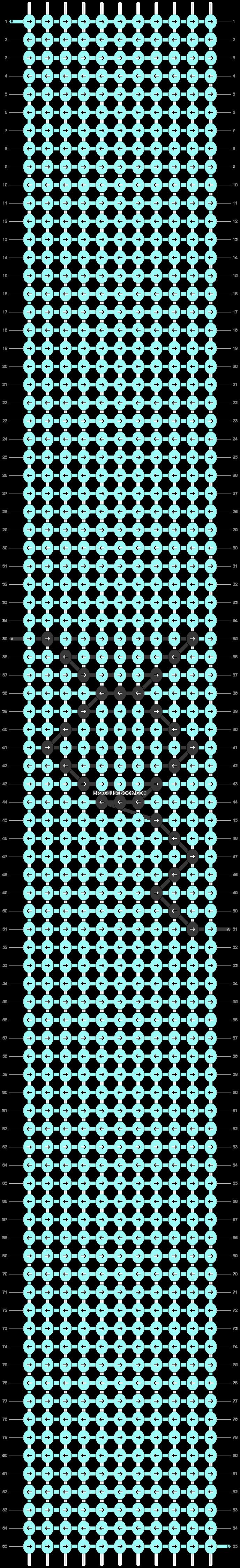 Alpha pattern #55581 pattern
