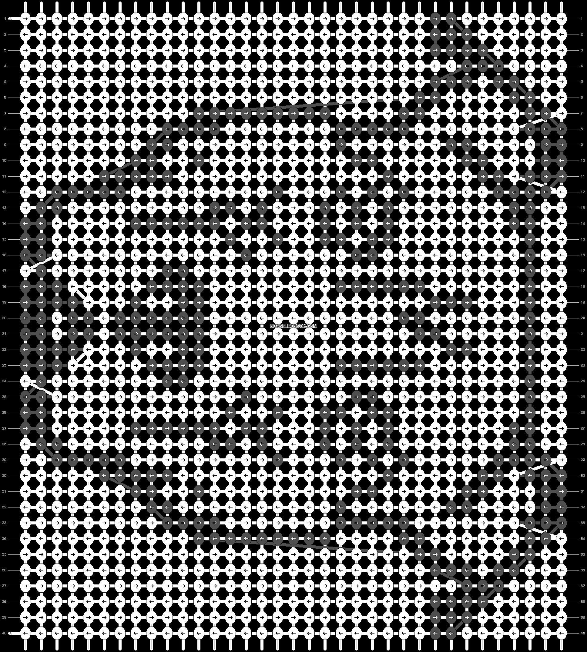 Alpha pattern #55603 pattern