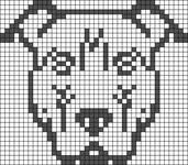 Alpha pattern #55603