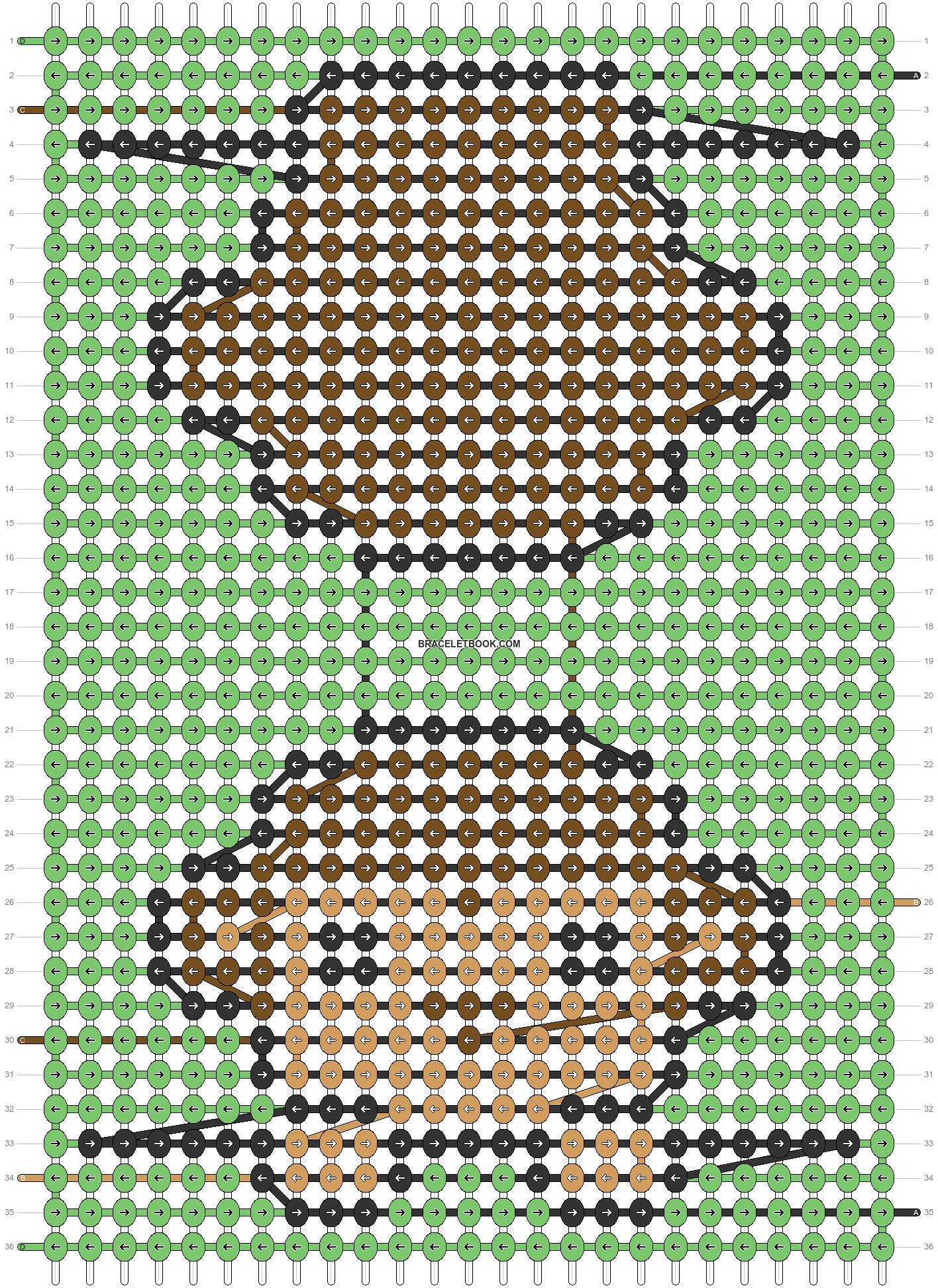 Alpha pattern #55641 pattern