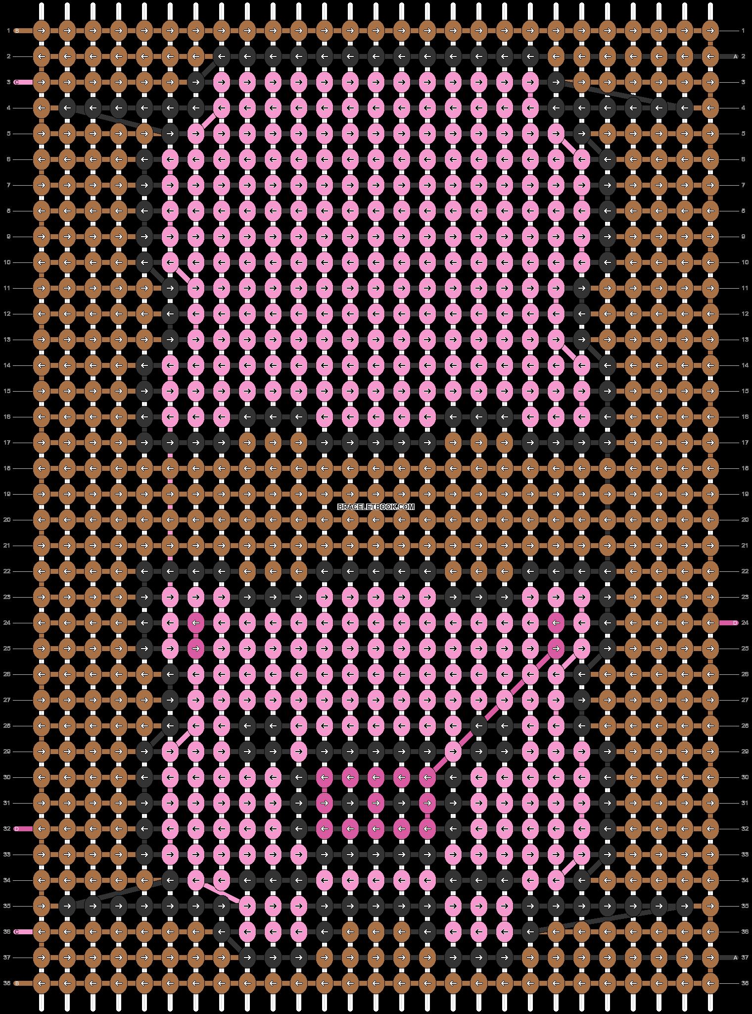 Alpha pattern #55644 pattern