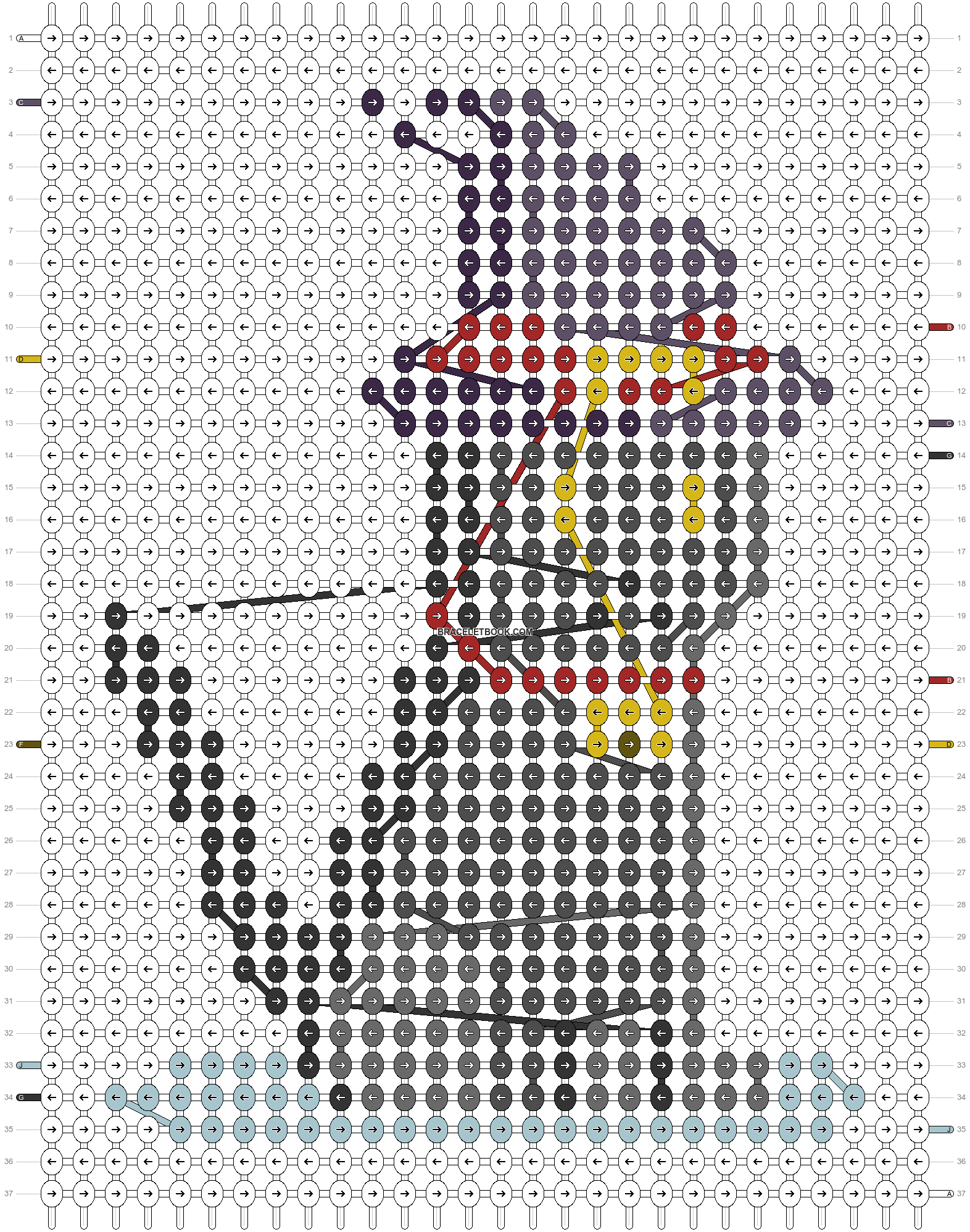 Alpha pattern #55681 pattern