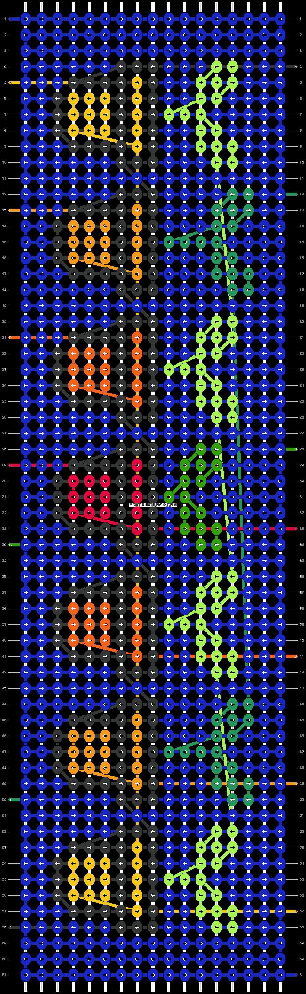 Alpha pattern #55683 pattern