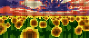 Alpha pattern #55691