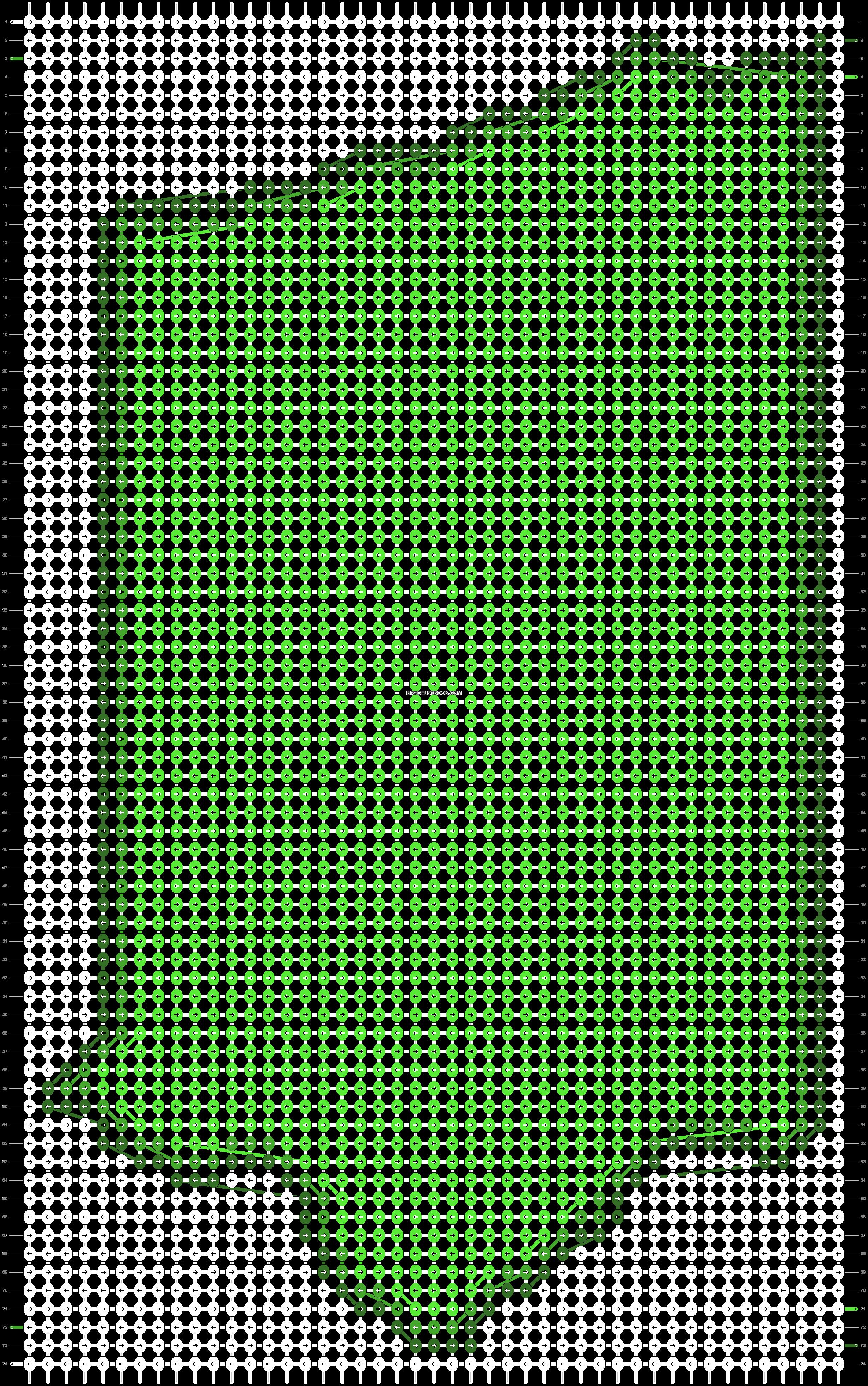 Alpha pattern #55692 pattern