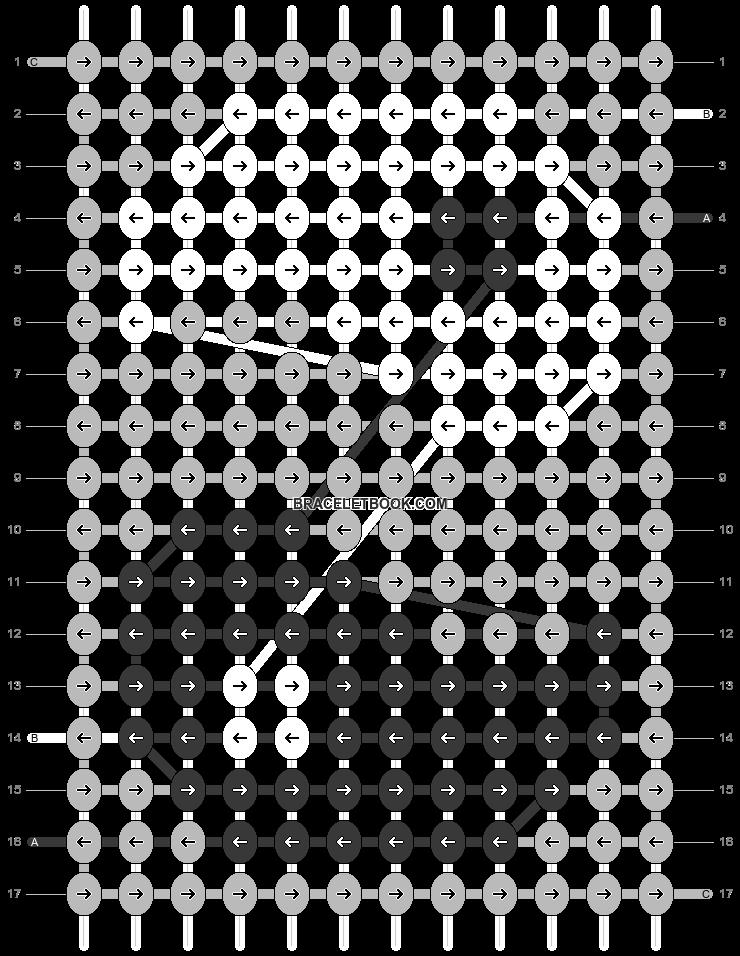 Alpha pattern #55697 pattern