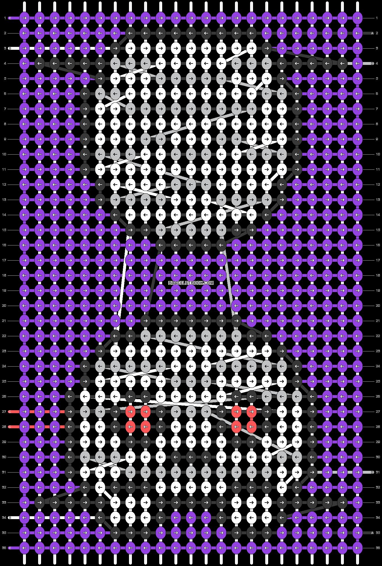Alpha pattern #55728 pattern
