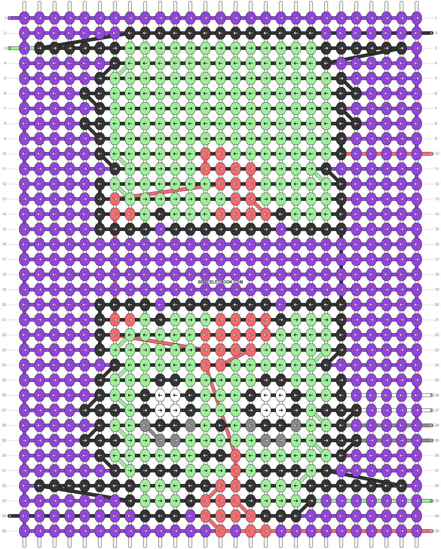 Alpha pattern #55729 pattern