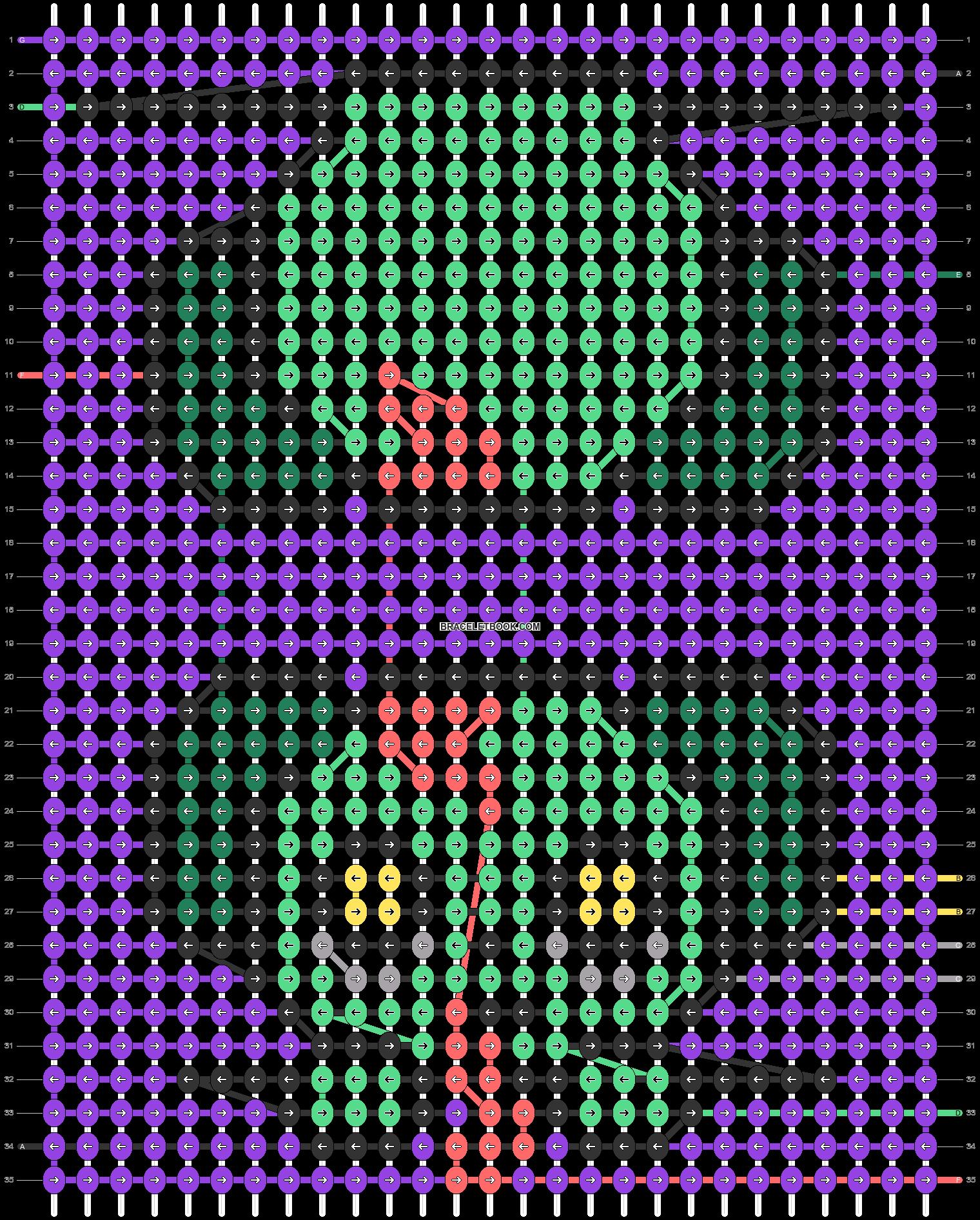 Alpha pattern #55730 pattern