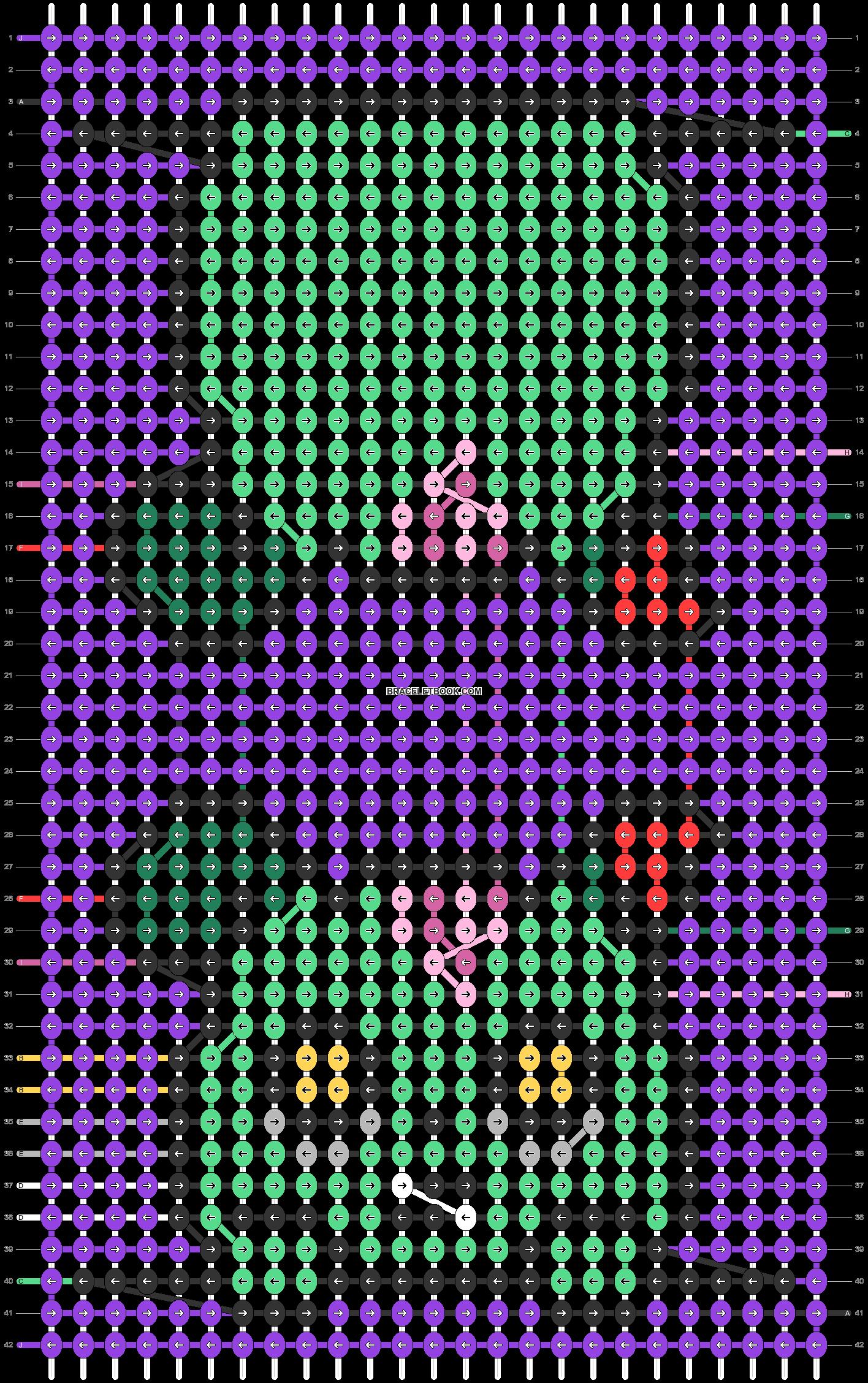 Alpha pattern #55731 pattern