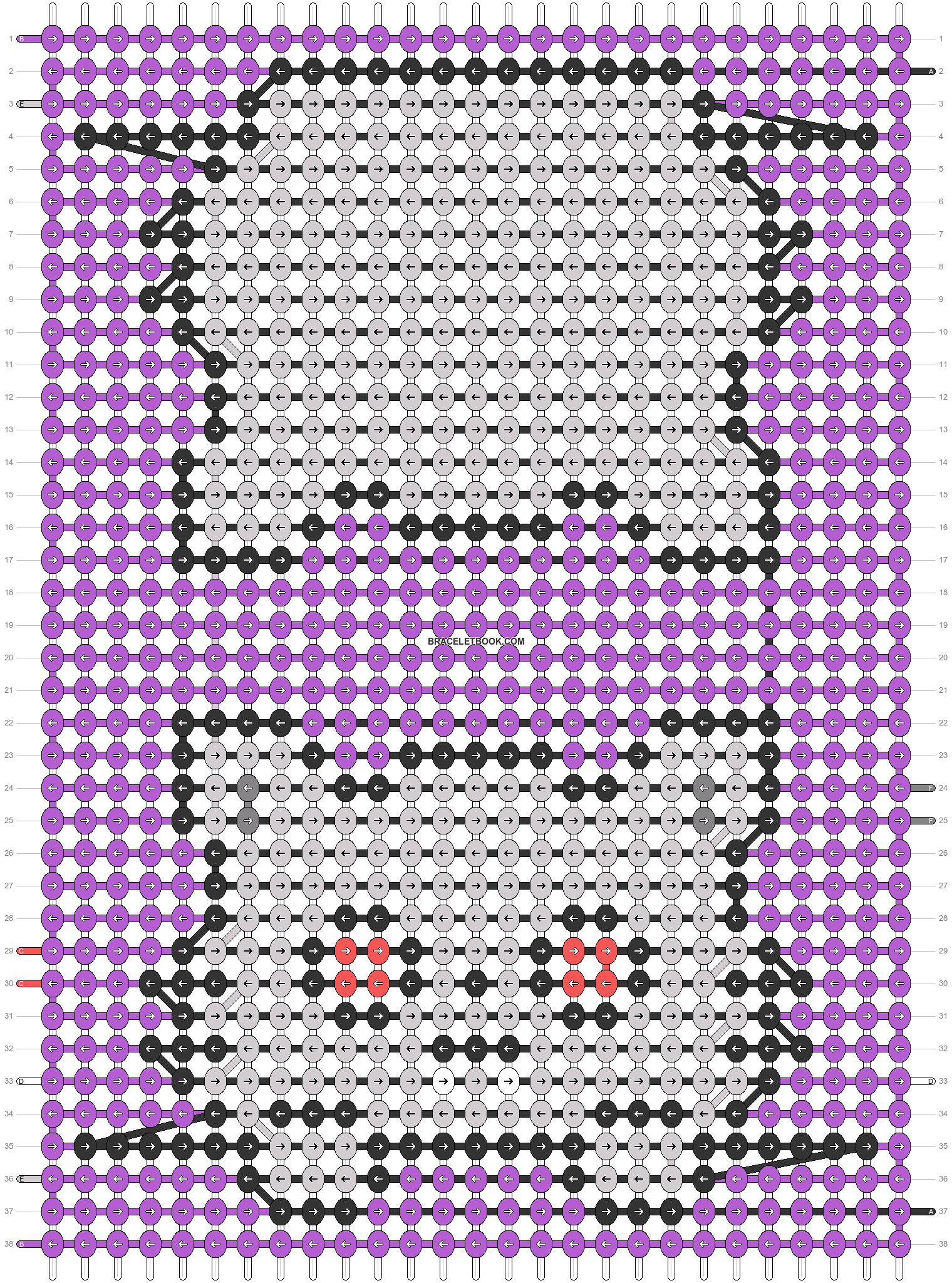 Alpha pattern #55735 pattern