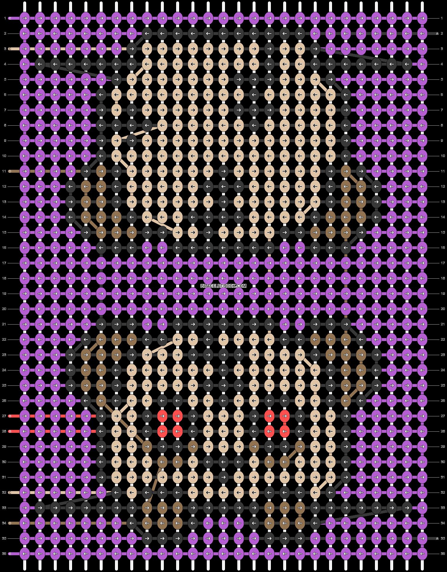 Alpha pattern #55736 pattern
