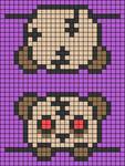 Alpha pattern #55736