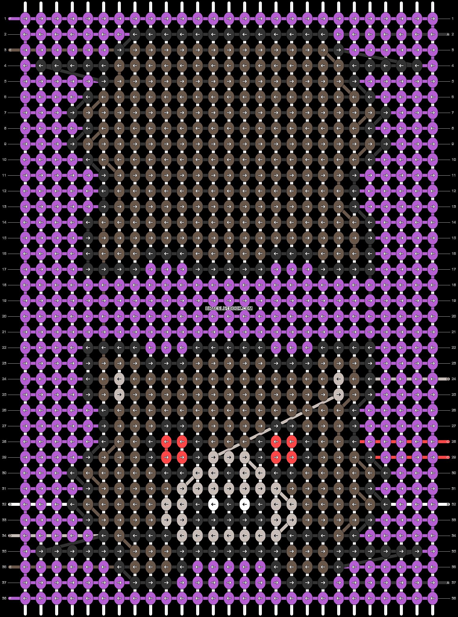 Alpha pattern #55738 pattern