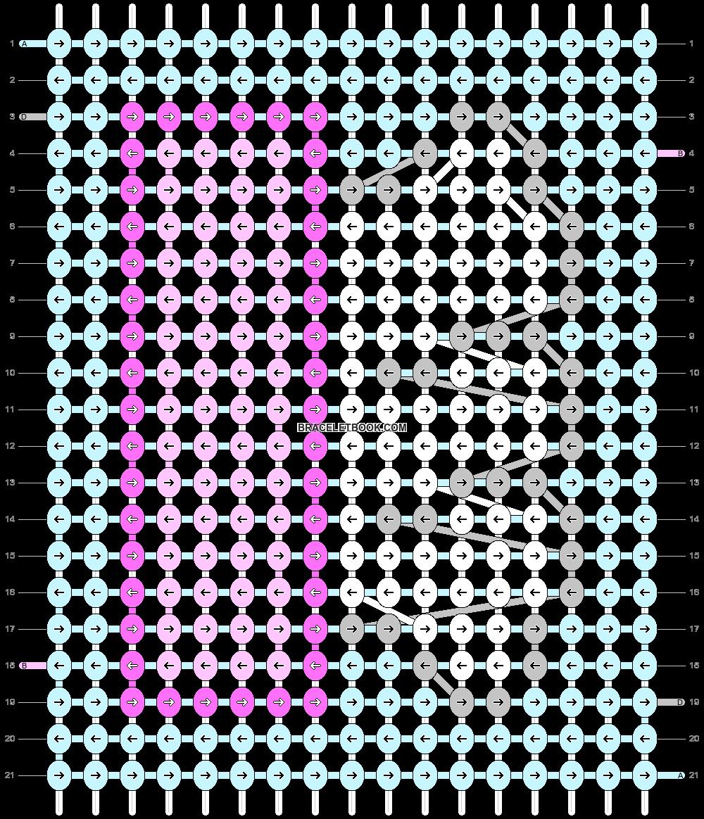 Alpha pattern #55765 pattern