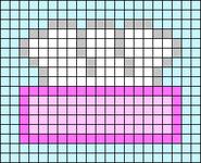 Alpha pattern #55765