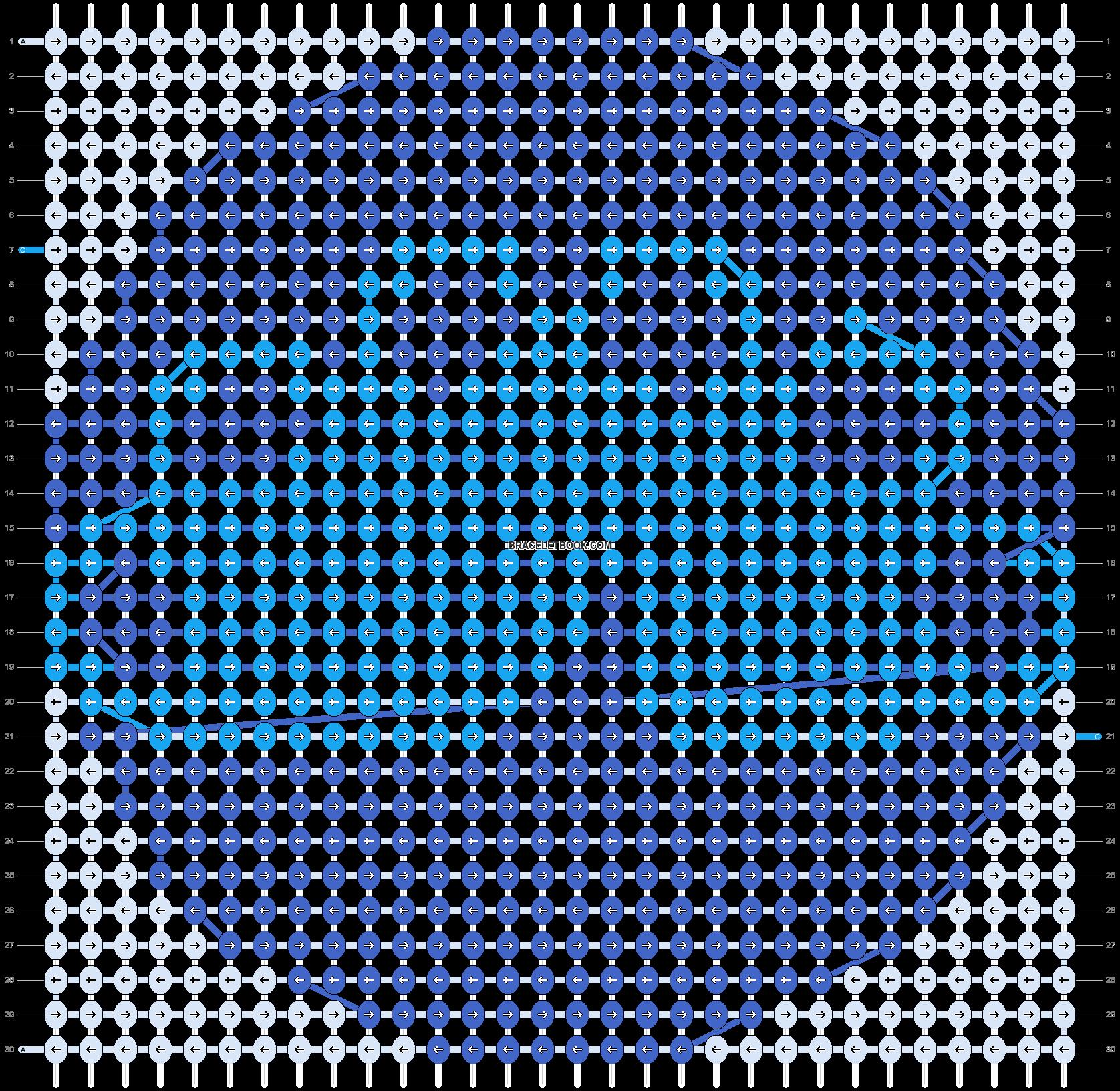 Alpha pattern #55787 pattern