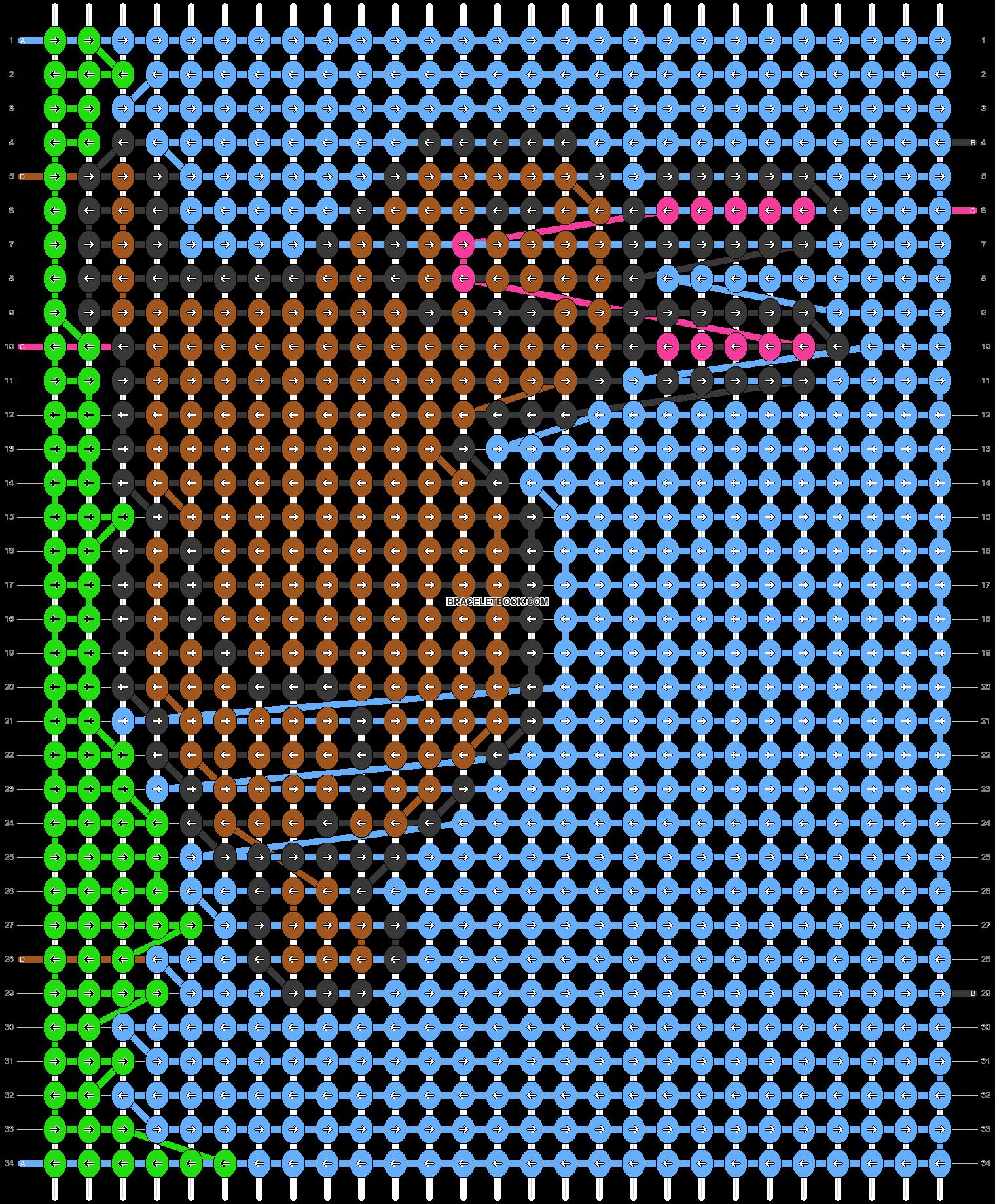 Alpha pattern #55790 pattern