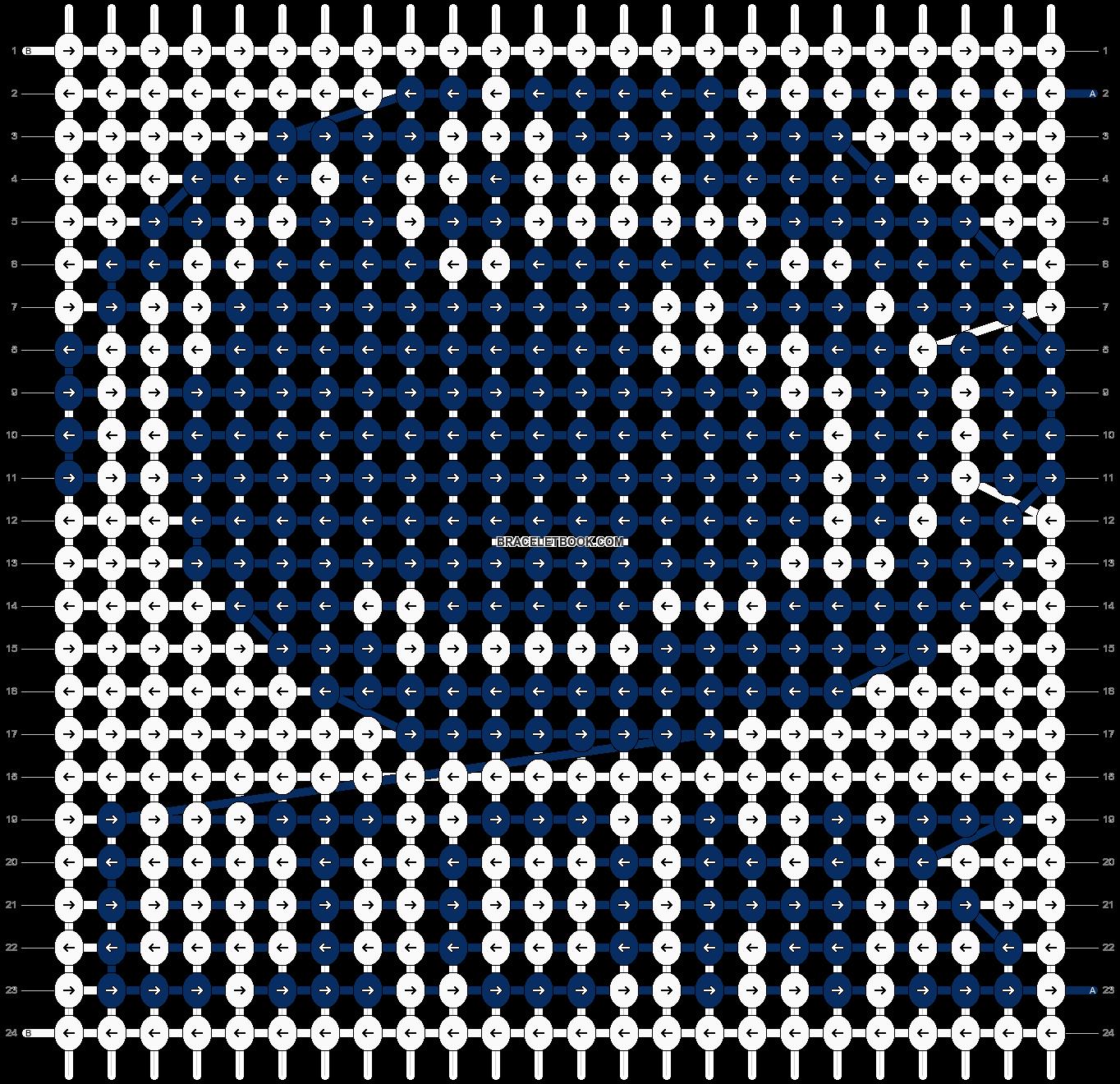 Alpha pattern #55796 pattern