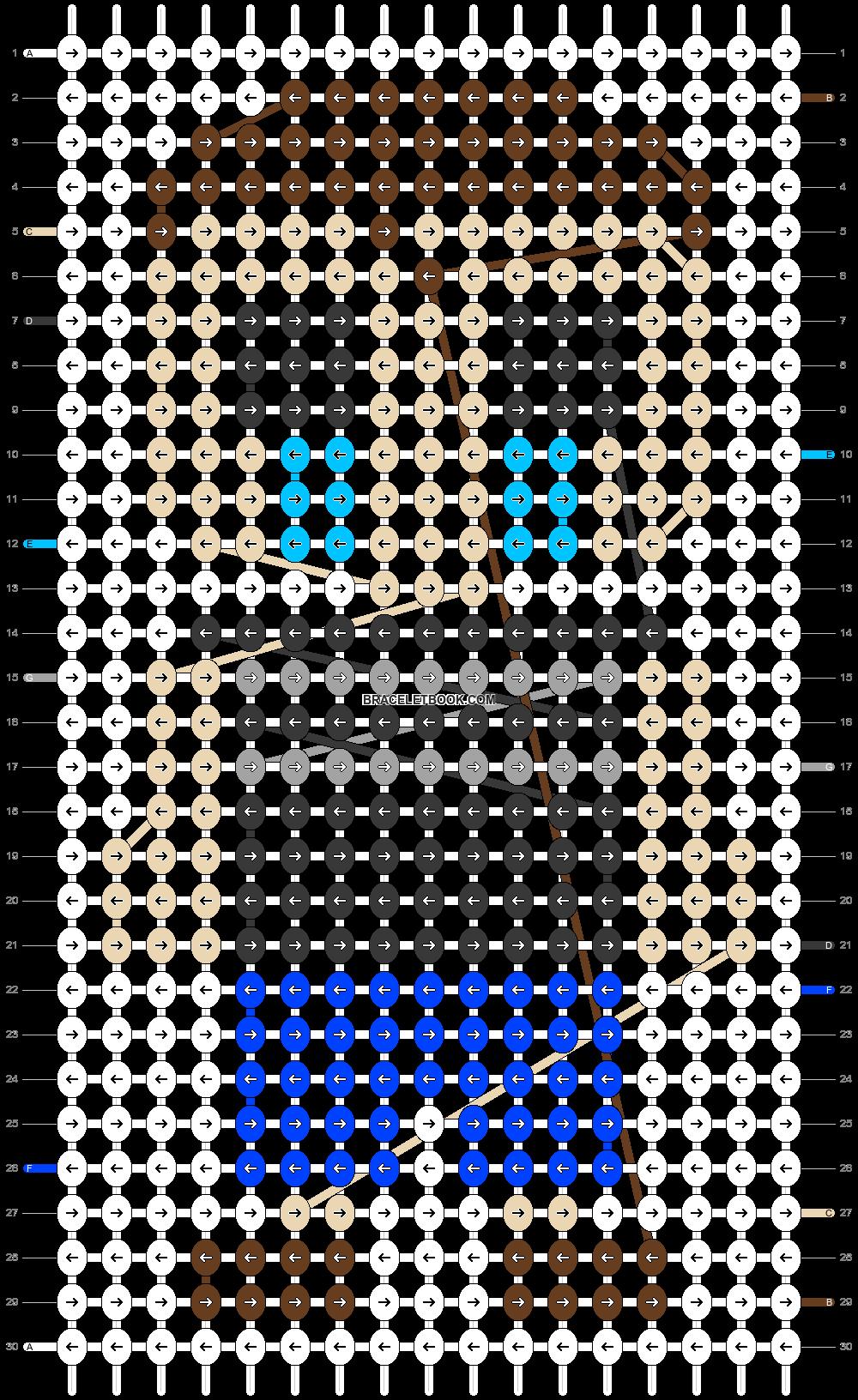 Alpha pattern #55797 pattern
