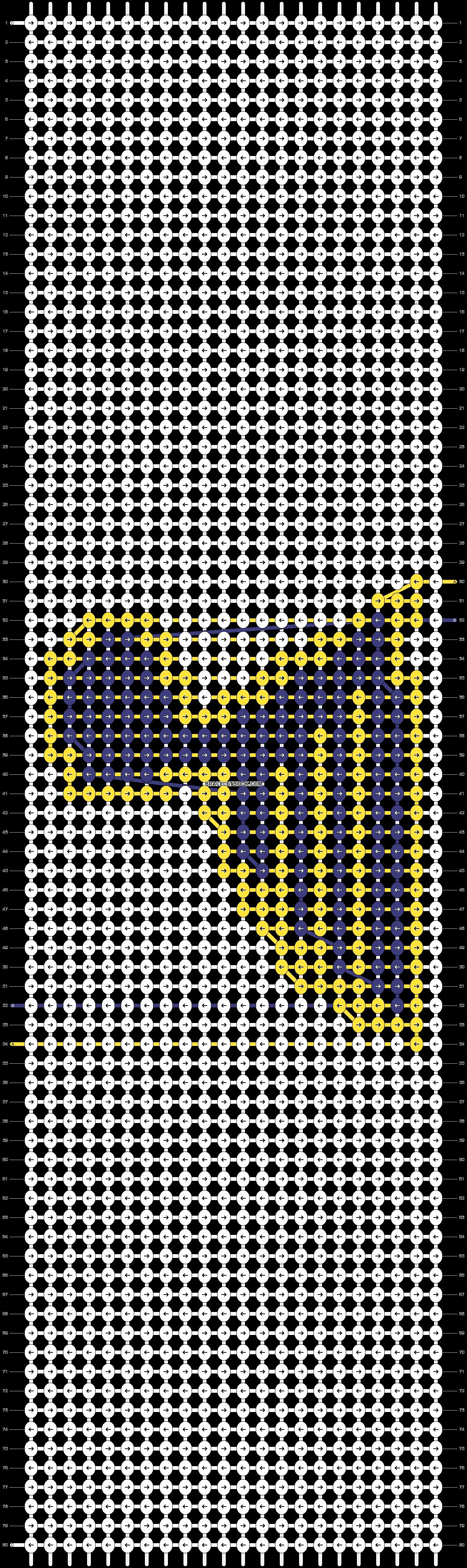 Alpha pattern #55818 pattern