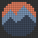 Alpha pattern #55862