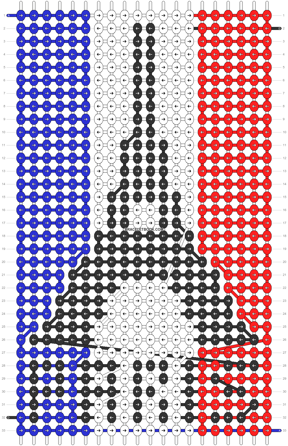 Alpha pattern #55867 pattern