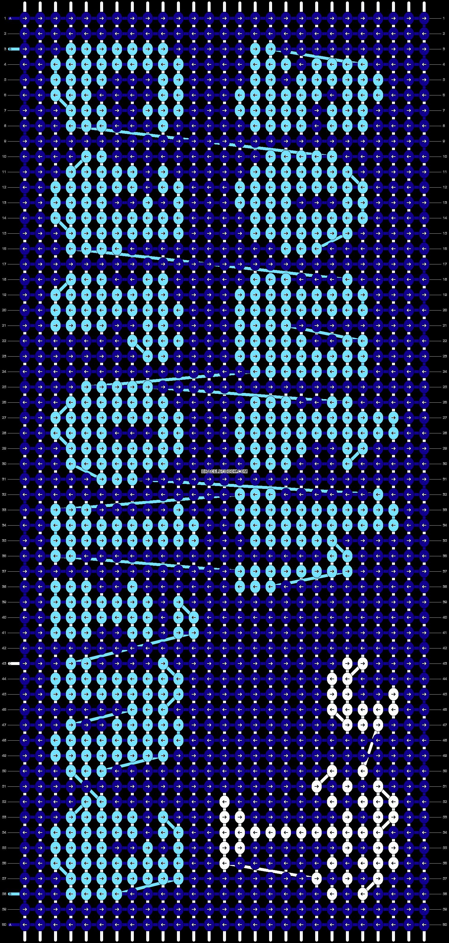 Alpha pattern #55878 pattern