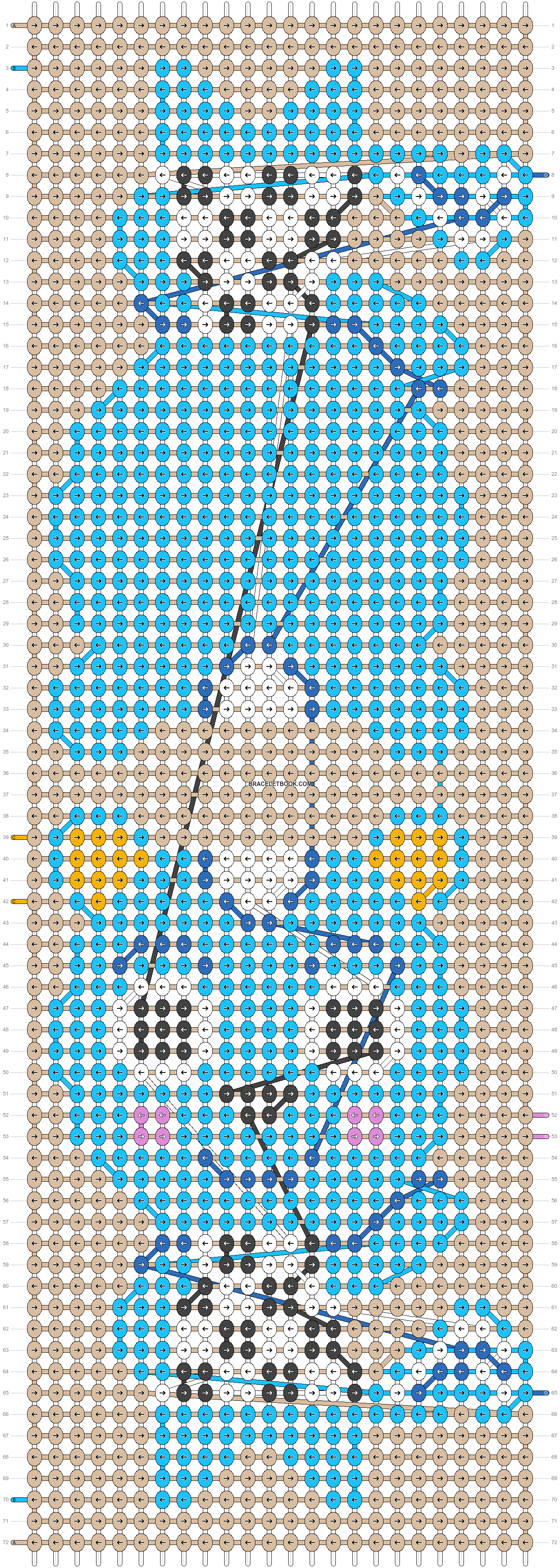 Alpha pattern #55900 pattern