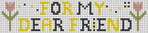 Alpha pattern #55905