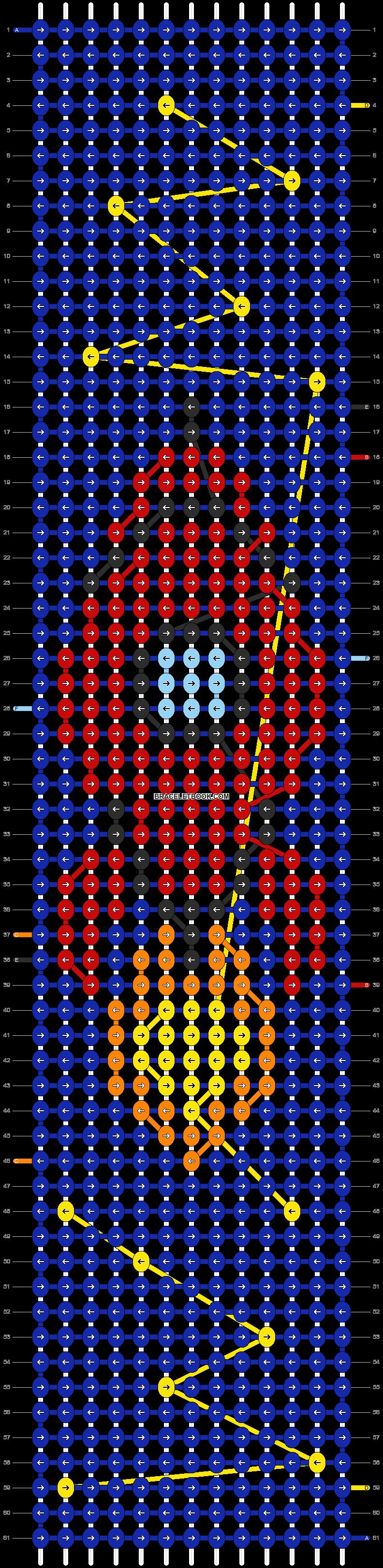 Alpha pattern #55910 pattern