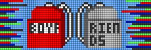 Alpha pattern #55934