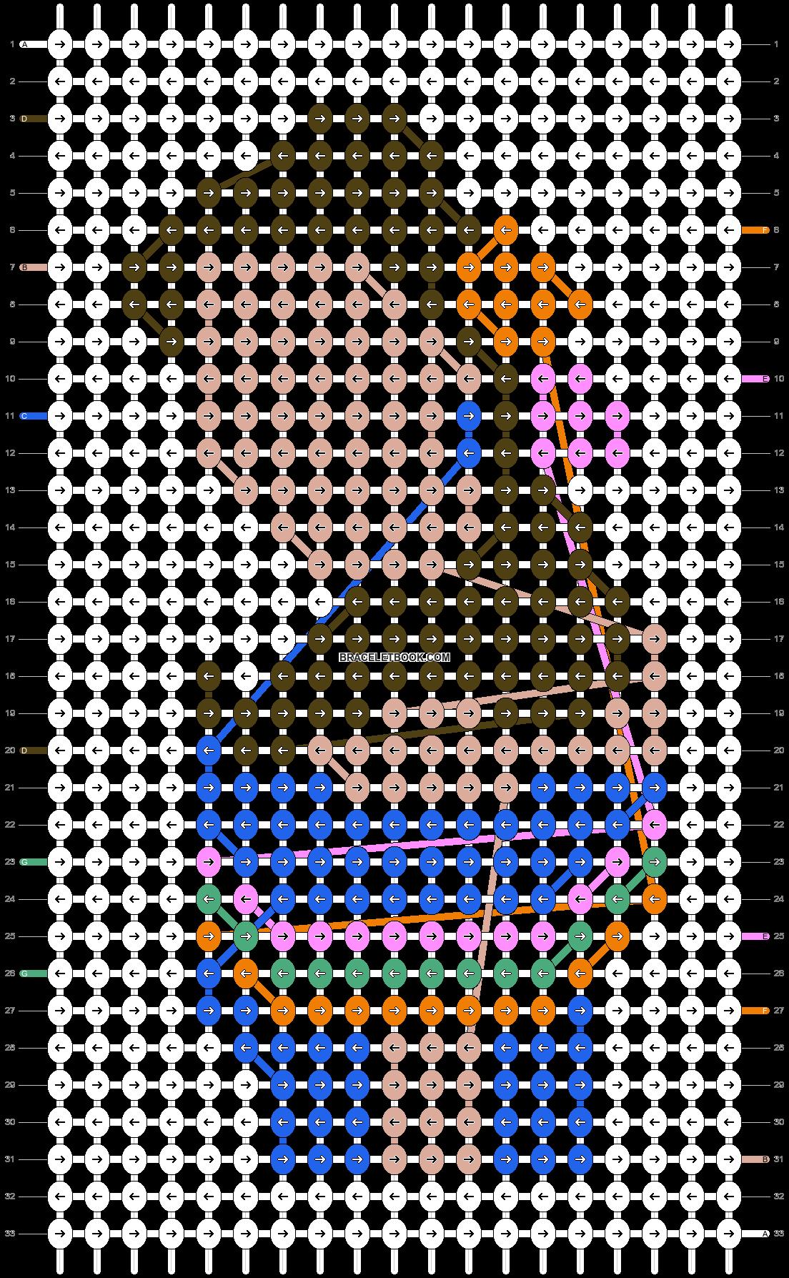 Alpha pattern #55983 pattern