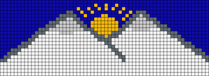 Alpha pattern #55990