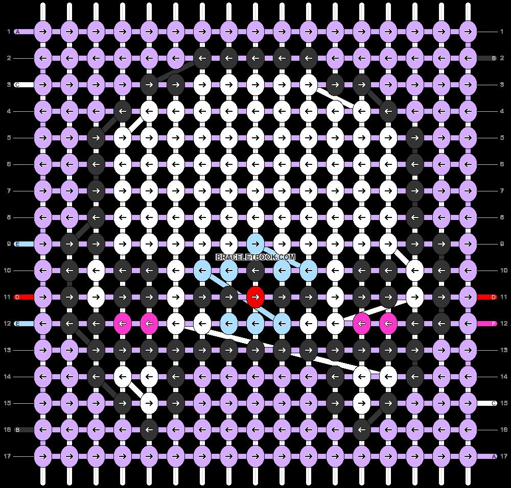 Alpha pattern #56009 pattern