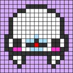 Alpha pattern #56009