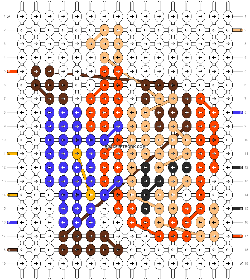 Alpha pattern #56022 pattern
