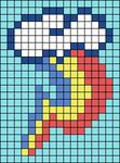 Alpha pattern #56023