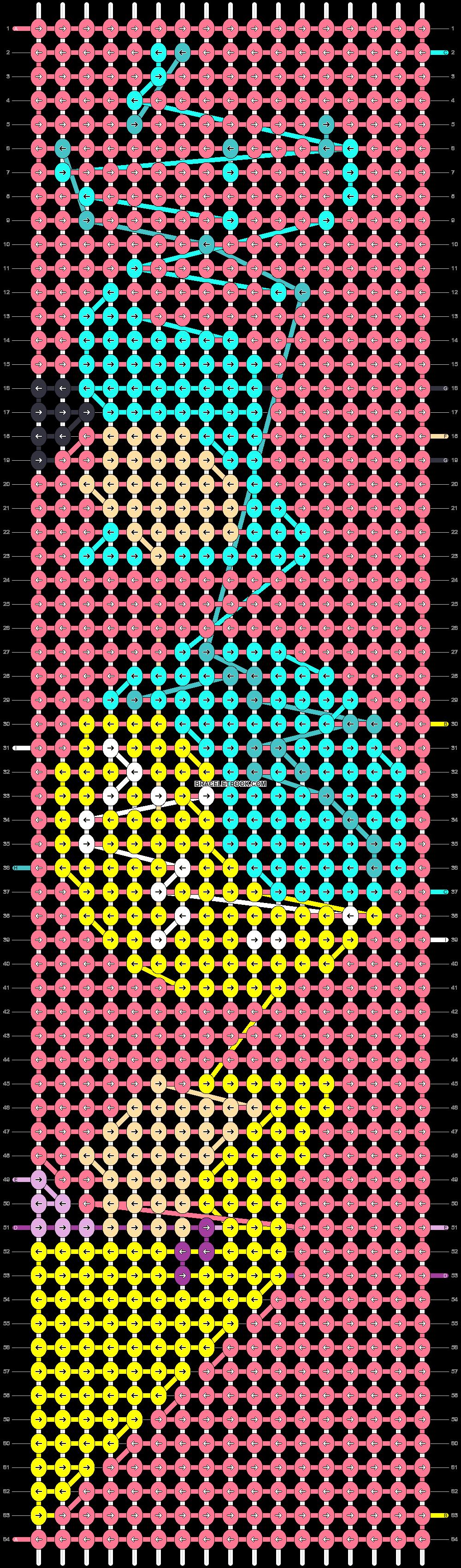 Alpha pattern #56050 pattern