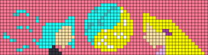 Alpha pattern #56050