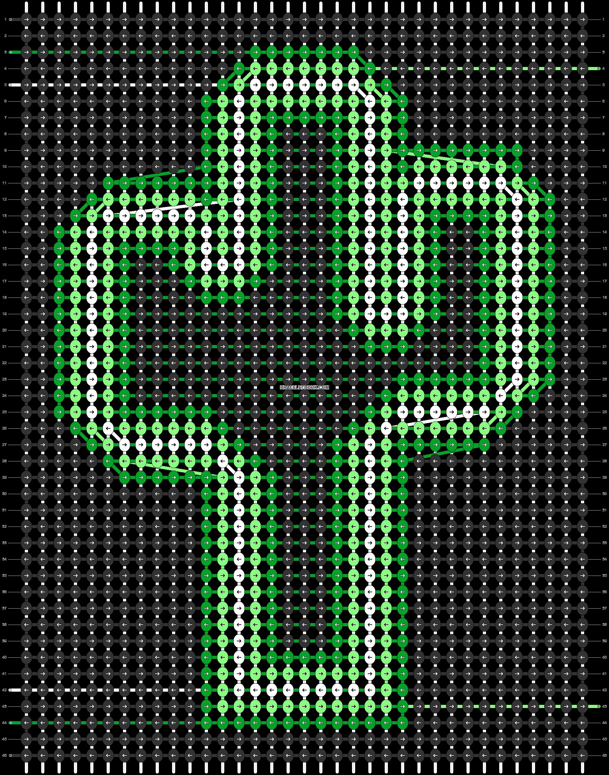 Alpha pattern #56058 pattern