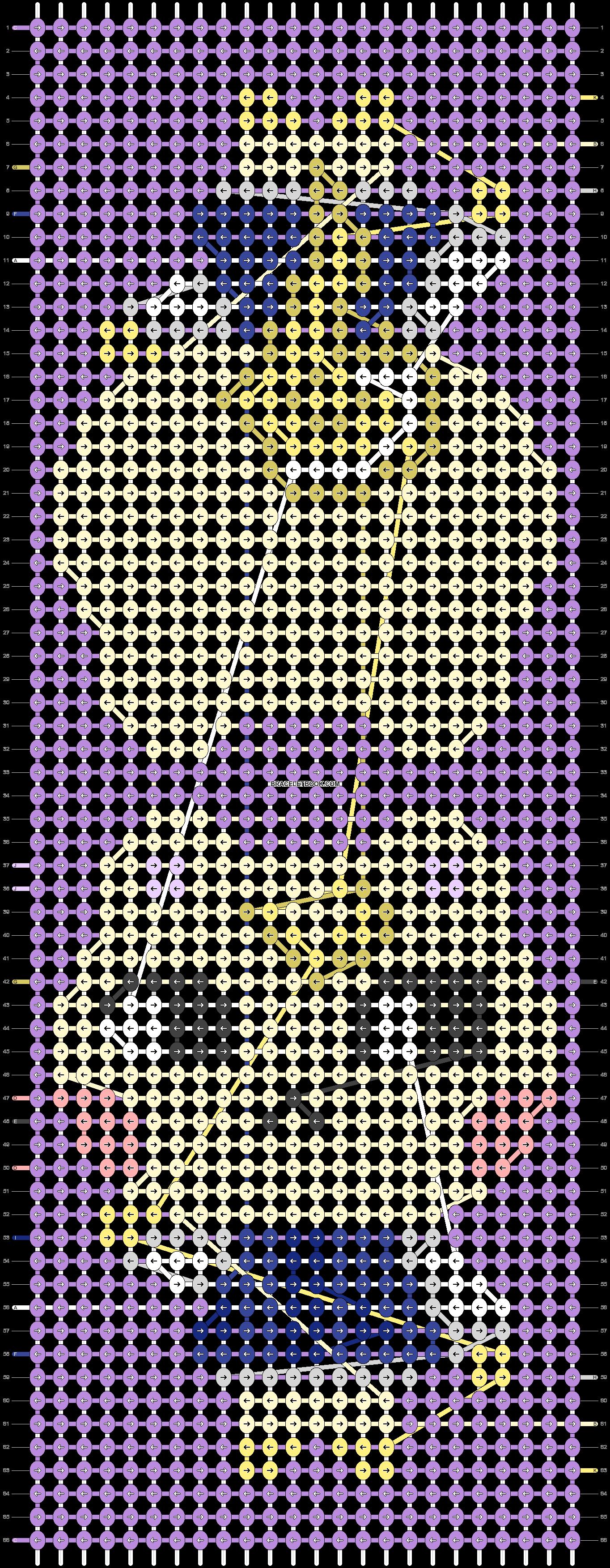 Alpha pattern #56079 pattern