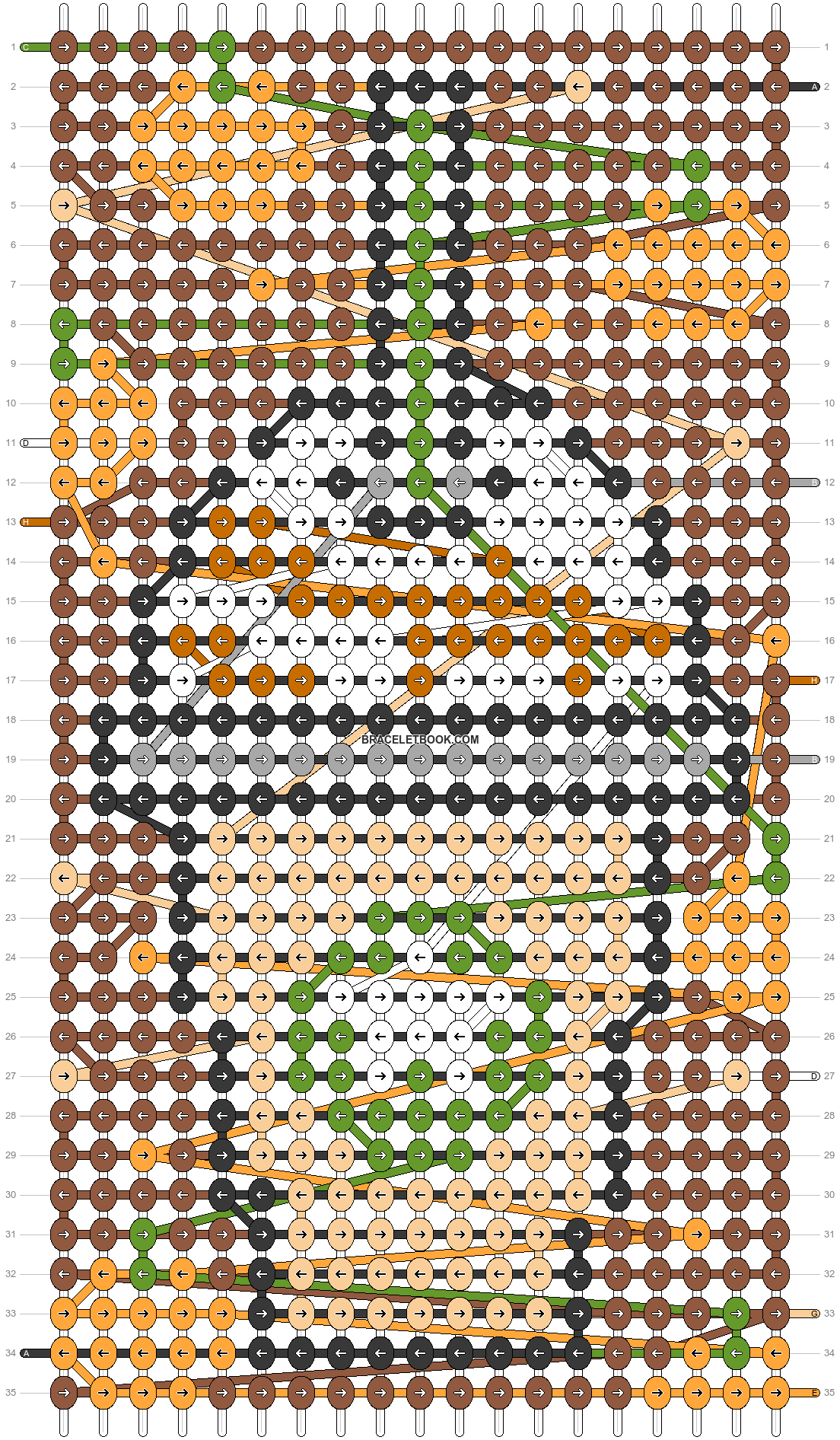 Alpha pattern #56093 pattern
