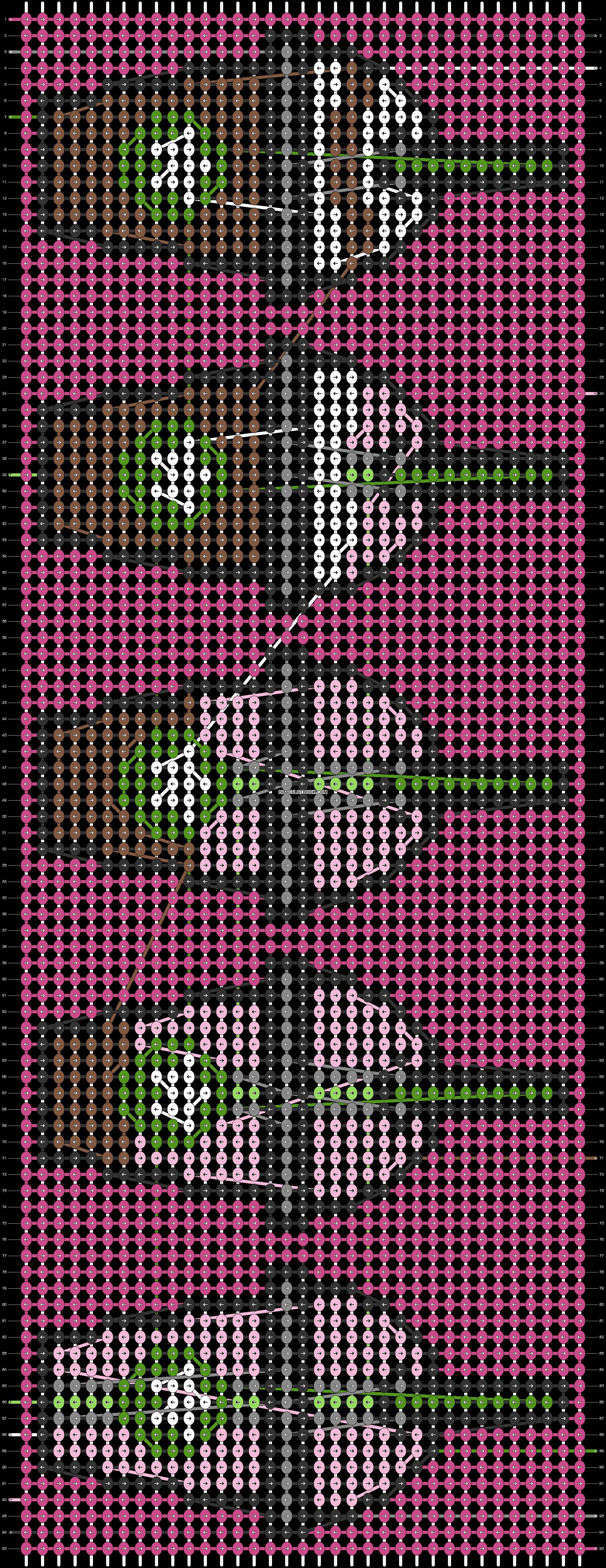 Alpha pattern #56095 pattern