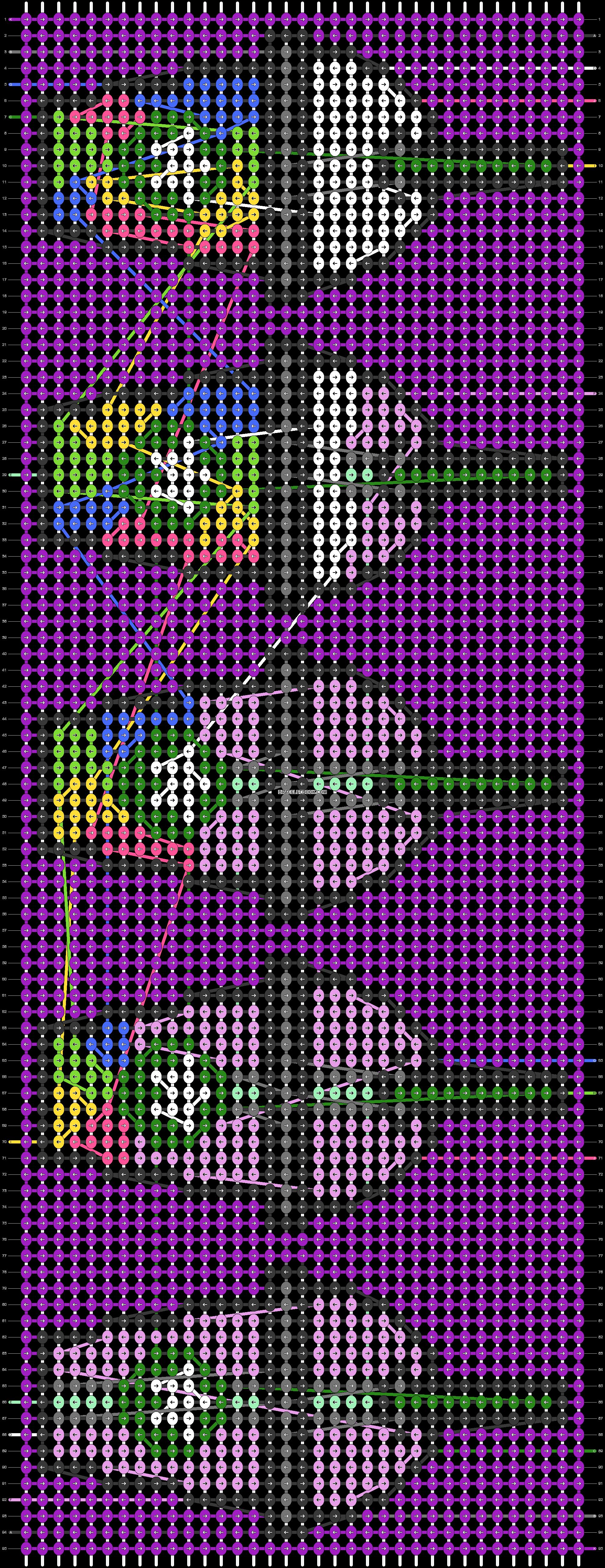 Alpha pattern #56099 pattern