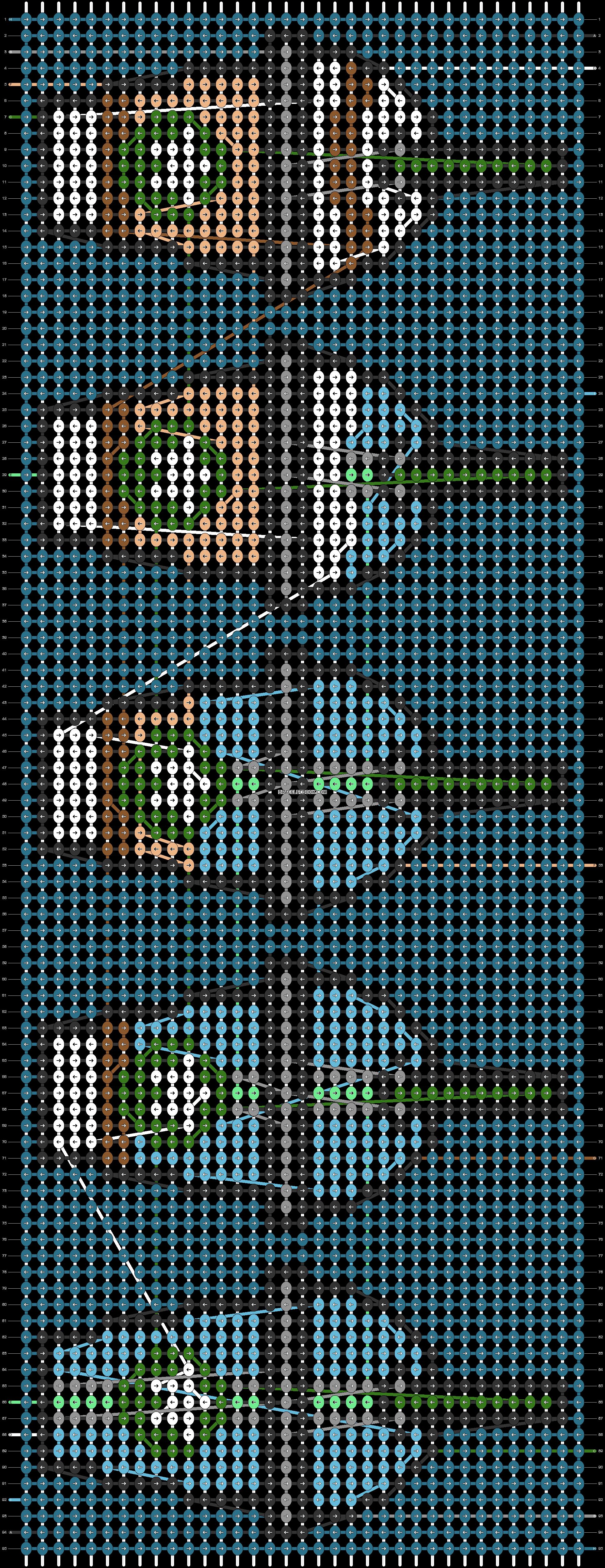 Alpha pattern #56101 pattern