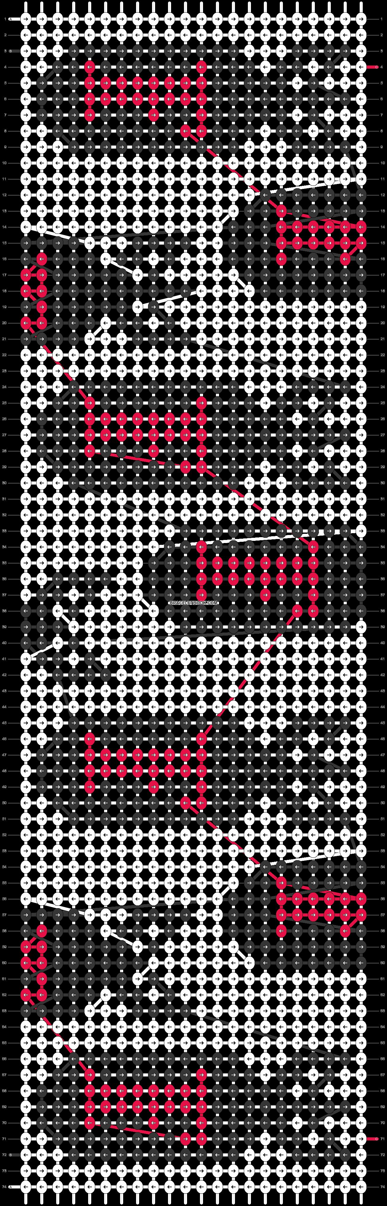 Alpha pattern #56122 pattern