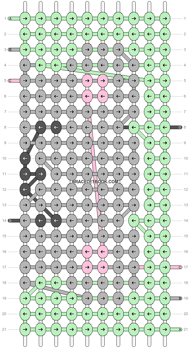 Alpha pattern #56159 pattern