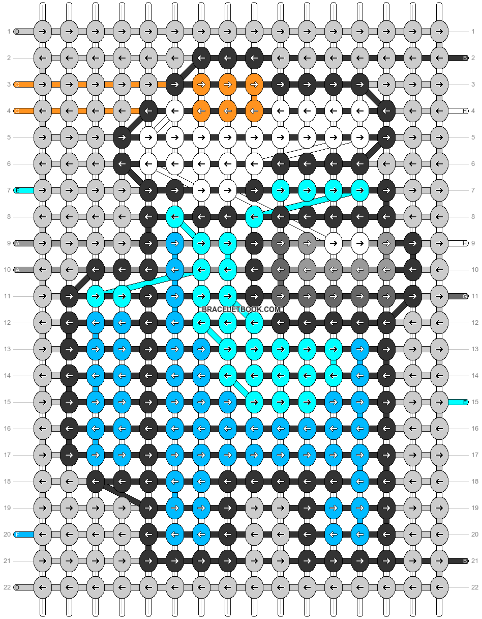 Alpha pattern #56182 pattern